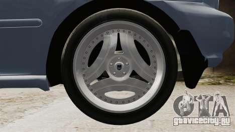 Honda Civic Gtaciyiz для GTA 4 вид сзади