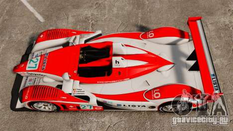 Porsche RS Spyder Evo для GTA 4 вид справа