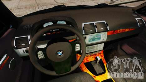 BMW X5 4.8iS v1 для GTA 4 вид сверху