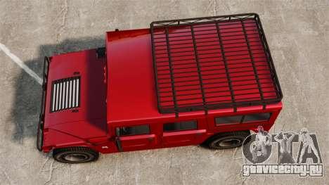 Hummer H1 для GTA 4 вид справа