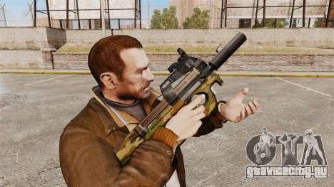 Бельгийский пистолет-пулемёт FN P90 v5 для GTA 4
