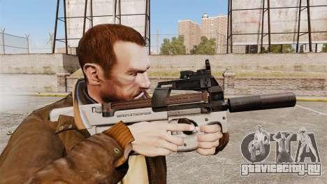 Бельгийский пистолет-пулемёт FN P90 v3 для GTA 4