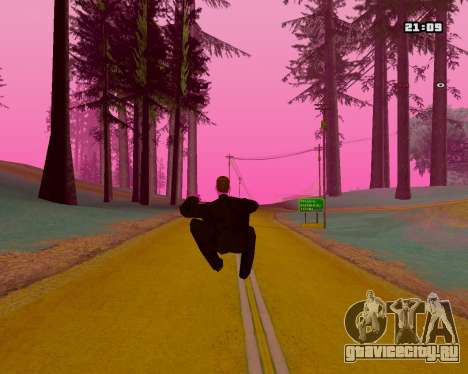 Pink NarcomaniX Colormode для GTA San Andreas четвёртый скриншот
