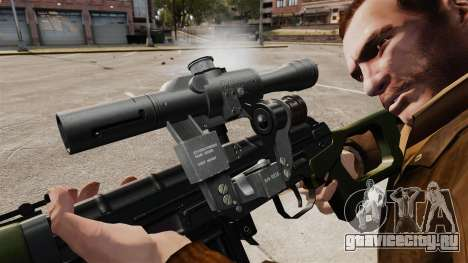 Снайперская винтовка Драгунова v3 для GTA 4