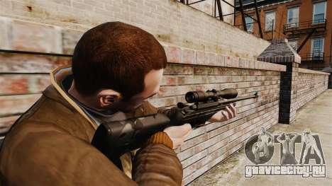Снайперская винтовка Sako TRG-42 для GTA 4