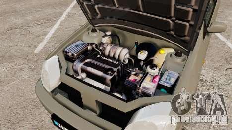 Daewoo Lanos FL 2001 для GTA 4 вид снизу