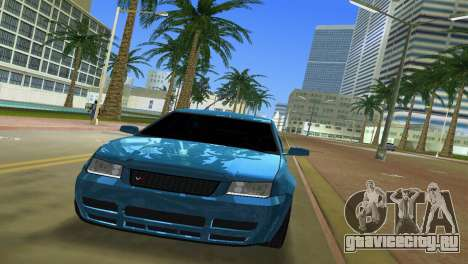 Volkswagen Bora для GTA Vice City вид сзади