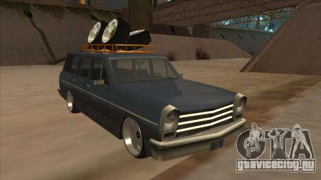New Peren Hellaflush для GTA San Andreas вид слева