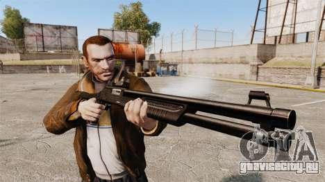 Тактический дробовик Fabarm SDASS Pro Forces v4 для GTA 4 третий скриншот