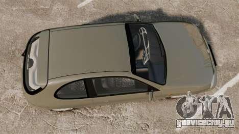Daewoo Lanos FL 2001 для GTA 4 вид справа