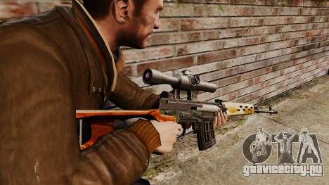 Снайперская винтовка Драгунова v4 для GTA 4 второй скриншот