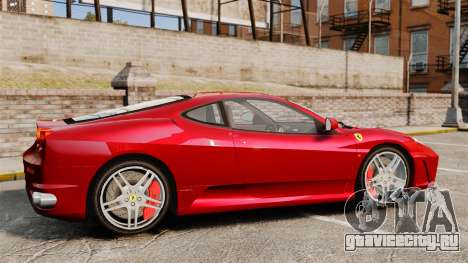 Ferrari F430 2005 для GTA 4 вид слева
