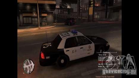 Police Pursuit Mod 7.5d для GTA 4