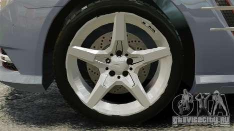 Mercedes-Benz SL500 2013 для GTA 4 вид сзади