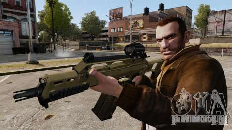 HK G36c для GTA 4 четвёртый скриншот