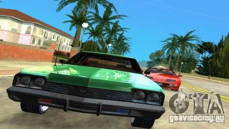 Dodge Monaco Police для GTA Vice City вид сзади слева