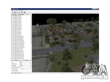 Map Editor 0.21b для GTA San Andreas