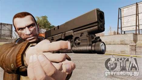 Пистолет Glock 20 для GTA 4 четвёртый скриншот