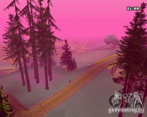 Pink NarcomaniX Colormode для GTA San Andreas