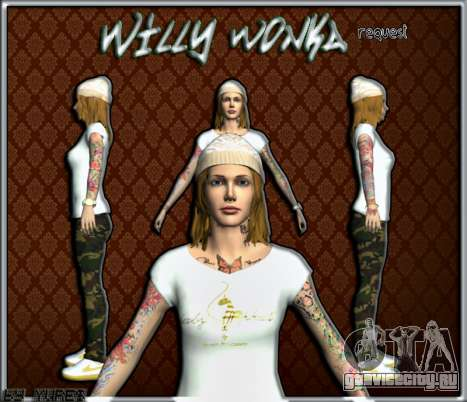 Willy Wonky для GTA San Andreas