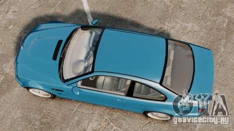 BMW M3 E46 для GTA 4 вид справа