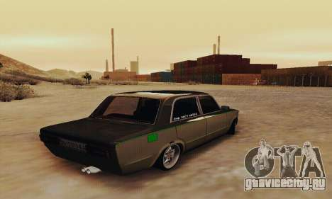 ВАЗ 2106 Зелёнка для GTA San Andreas вид сзади слева
