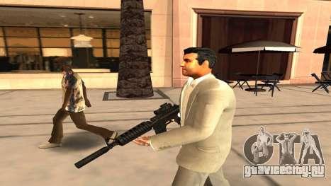 Скин Майкла из GTA V для GTA San Andreas второй скриншот