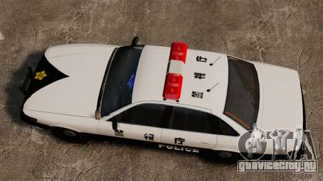 Полиция Японии для GTA 4