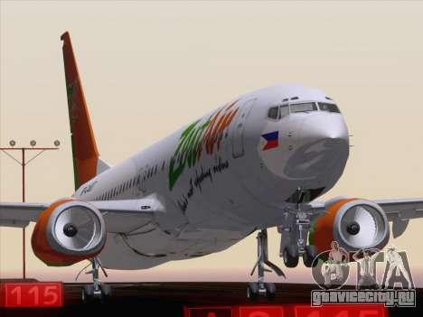 Boeing 737-800 Zest Air для GTA San Andreas