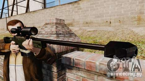Accuracy International AW50F для GTA 4