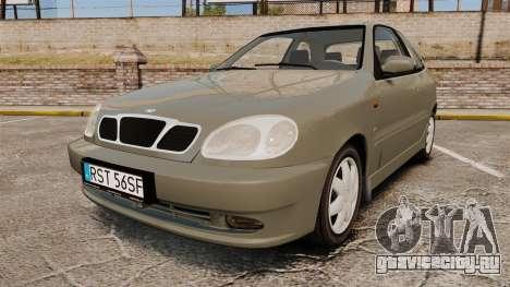 Daewoo Lanos FL 2001 для GTA 4