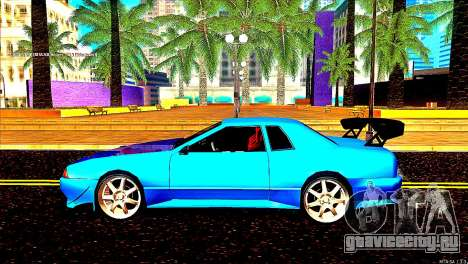 Elegy Dorifto Tune для GTA San Andreas вид сзади слева