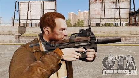 Бельгийский пистолет-пулемёт FN P90 v1 для GTA 4