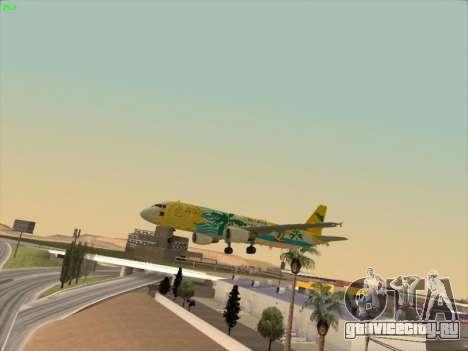 Airbus A320-211 Cebu Pacific Airlines для GTA San Andreas двигатель