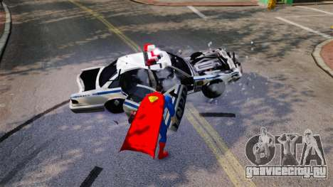 Скрипт Супермэн для GTA 4 четвёртый скриншот