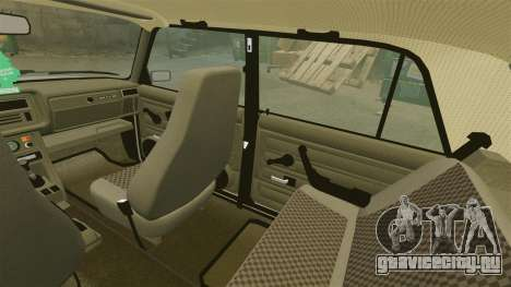 ВАЗ-2107 для GTA 4 салон