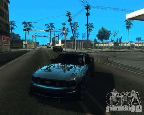 ENB for low PC v2 для GTA San Andreas четвёртый скриншот