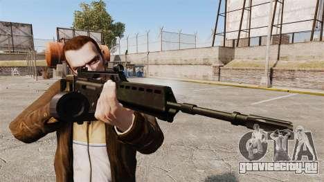 Штурмовая винтовка H&K MG36 v2 для GTA 4