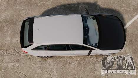 Audi RS4 Avant 2013 Sport v2.0 для GTA 4 вид справа