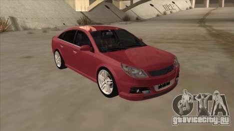Opel Vectra C Irmscher для GTA San Andreas вид слева