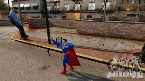 Скрипт Супермэн для GTA 4 пятый скриншот