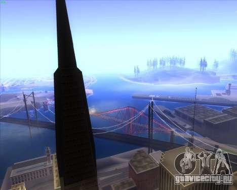 ENBSeries by MatB1200 для GTA San Andreas второй скриншот