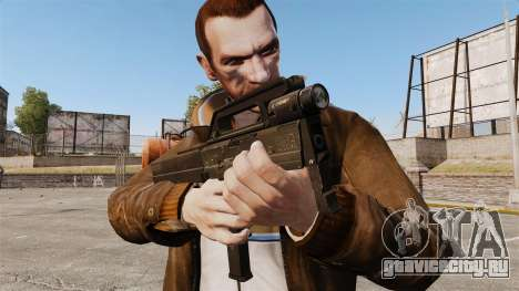 Пистолет-пулемет  Magpul FMG-9 для GTA 4 третий скриншот