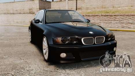 BMW M3 Coupe E46 для GTA 4
