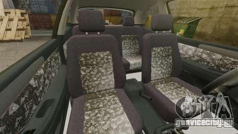 Daewoo Lanos FL 2001 для GTA 4 вид изнутри