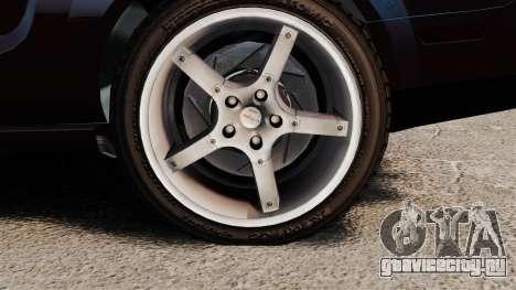 Ford Mustang Shelby GT500KR 2008 для GTA 4 вид сзади