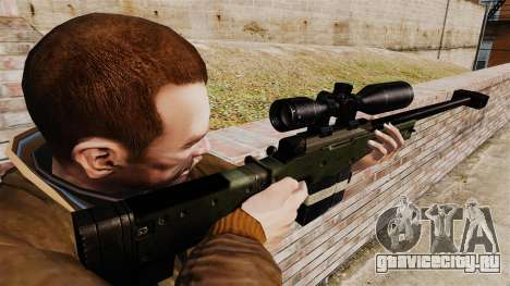 Accuracy International AW50F для GTA 4 второй скриншот