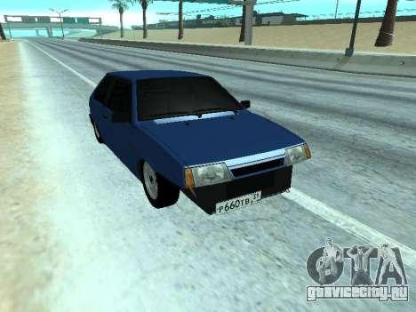 ВАЗ 2108 Синяя дюжина для GTA San Andreas
