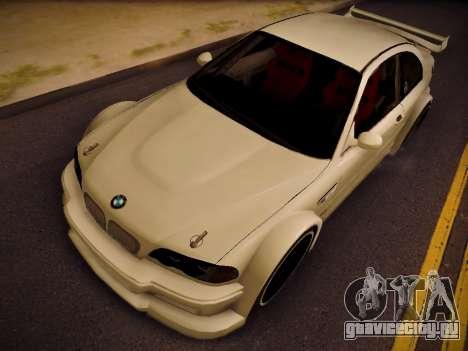 BMW M3 E46 Tuning для GTA San Andreas вид справа