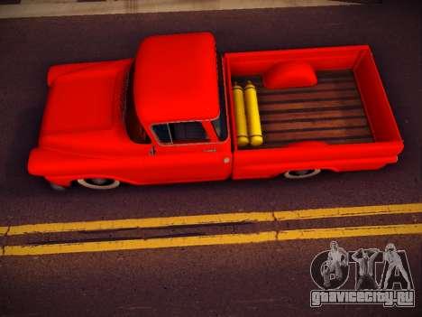Chevrolet Apache для GTA San Andreas вид справа